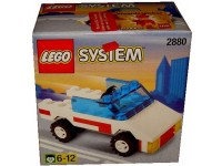 LEGO System Open top Jeep - 2880