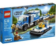 LEGO City Politie off-Road commando centrum - 4205