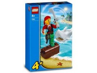 LEGO Pirates Jimmy Kanonskogel en haai - 7082