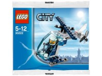 LEGO City Politie mini helikopter (polybag) - 30222