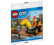 LEGO City Sloopboormachine (polybag) - 30312