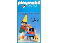 Playmobil Circus clown met stoel - 3390