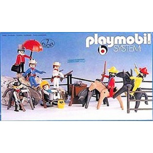 Playmobil SuperSet Cowboys - 3407
