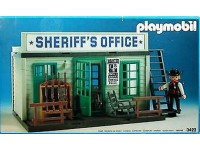 Playmobil Western Sheriff's office - 3423