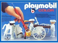 Playmobil Color Soldaten met kanon - 3607