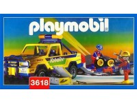 Playmobil Pick up met trailer - 3618