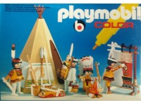 Playmobil Color Indianen met wigwam - 3621