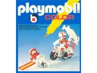 Playmobil Color Stuntmotor artiesten - 3641