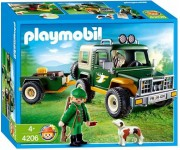 Playmobil Jeep met boswachter - 4206