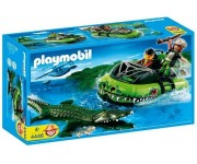 Playmobil Gangster hovercraft - 4446