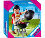 Playmobil Papa met barbecue - 4649