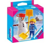 Playmobil Kind met sneeuwman - 4680