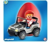 Playmobil Ei Jongen in kinderjeep - 4918-1