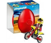 Playmobil Ei Crossmotor - 4923
