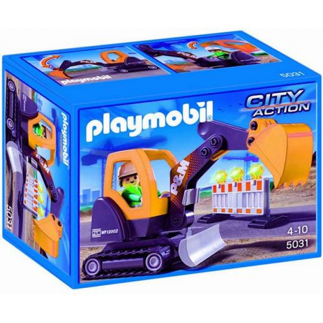 goedkoop playmobil kleine graafmachine 5031 kopen bij. Black Bedroom Furniture Sets. Home Design Ideas