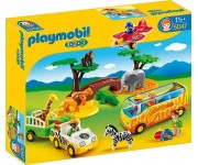 Playmobil 1.2.3 Grote safari - 5047