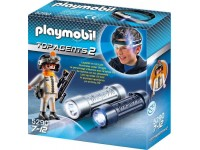 Playmobil Top Agents Spionnenlamp - 5290