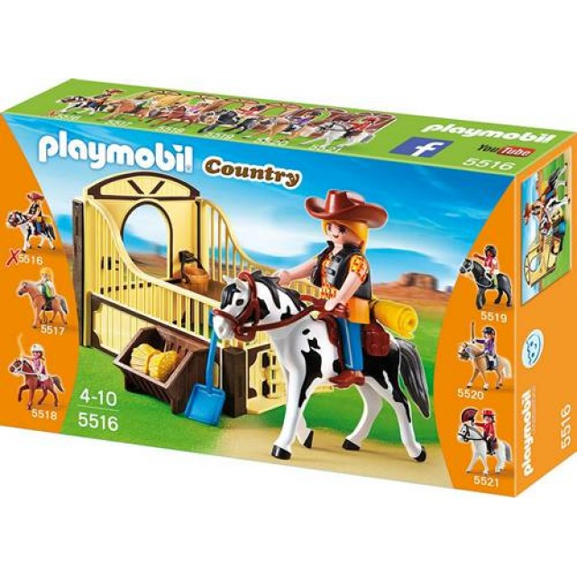 goedkoop playmobil tinker paard met paardenbox 5516. Black Bedroom Furniture Sets. Home Design Ideas