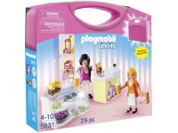 Playmobil Meeneemkoffer lunchroom set - 5631