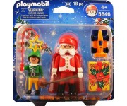 Playmobil Kerstman en elf - 5846