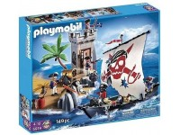 Playmobil Soldatenfort en piratenboot - 5919