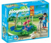 Playmobil Zoo flamingo's - 5967