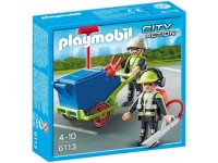 Playmobil Team stadsreinigers - 6113