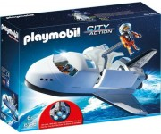 Playmobil Space Shuttle met bemanning - 6196