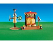 Playmobil Koningstroon met trainingspop (folieverpakking) - 6375
