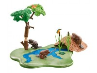 Playmobil Bevers met rivier (folieverpakking) - 6541