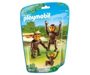 Playmobil Chimpansees met baby - 6650