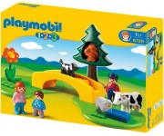 Playmobil 1.2.3 Wandeling in de wei - 6788