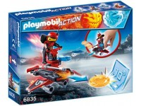 Playmobil Firebot met disc-shooter - 6835
