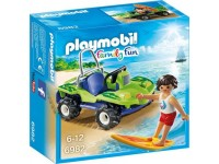 Playmobil Surfer met strandbuggy - 6982