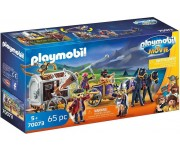 Playmobil The Movie Charlie met gevangeniswagon - 70073