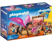 Playmobil The Movie Marla en Del met gevleugeld paard - 70074