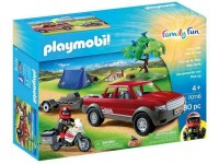 Playmobil Kamperen met pick-up truck - 70116
