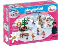 Playmobil Adventskalender Heidi's winterwereld - 70260