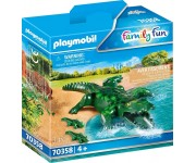 Playmobil Alligator met baby - 70358