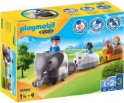 Playmobil 1.2.3 Dierentrein - 70405