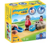 Playmobil 1.2.3 Hondentrein - 70406