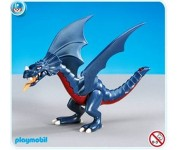 Playmobil Blauwe draak (folieverpakking) - 7480
