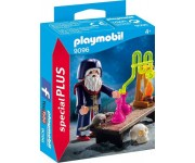 Playmobil Tovenaar met laboratorium - 9096