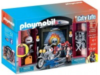 Playmobil Play Box Werkplaats motor - 9108