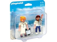 Playmobil DuoPack Steward en stewardess - 9216
