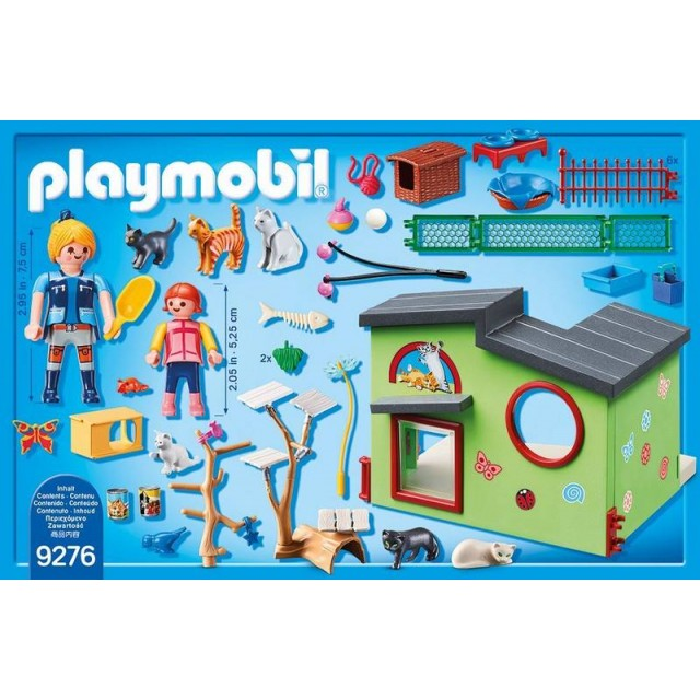 goedkoop playmobil kattenverblijf 9276 kopen bij. Black Bedroom Furniture Sets. Home Design Ideas