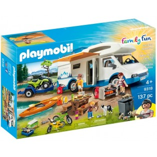Playmobil Camper en adventure set - 9318