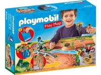 Playmobil Play Map Motorcrossers met plattegrond - 9329