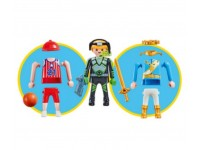 Playmobil Multi Play basketballer koning ruimteagent (folieverpakking) - 9828