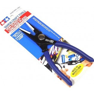 Tamiya Craft Tools Non-scratch long nose pliers - 74065